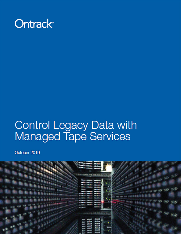 Managed Tape Services: The solution to controlling your archived data
